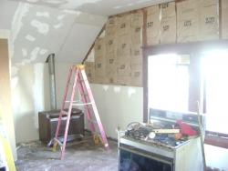"""View the album N. Forest """"After"""" Photos.  These pictures show some of the many improvements.  This attic turned out to be quite a nice living space."""