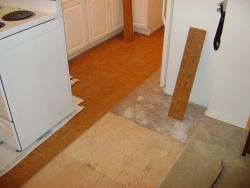 View the album Cork Floor Installation